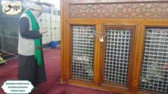 Şeyh Ahmet el Kadiri'nin (ks) Ebu Hanife Hazretlerinin Türbesini Ziyareti