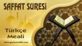 Saffat Suresi Meali