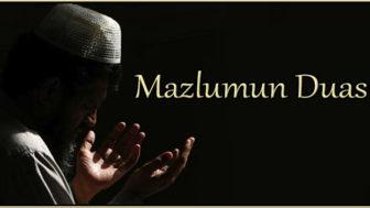 Mazlumun duası