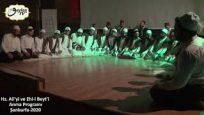 Hz. Ali ve Ehl-i Beyt'i Anma Programı-Kadiri Devranı 1.Kısım