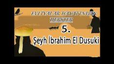 Evliyalar Hayatından Dersler-5- Şeyh İbrahim El Dusuki Hazretleri (sheikh,dervish)
