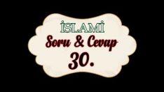 Soru,Cevap-30-Derviş Şeyhin de Şeriata aykırı bir şey gördüğünde ne yapması lazım